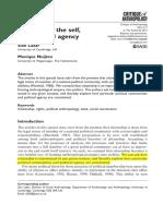 Lazar, Nuitjen - Citizenship, The Self, And Political Agency