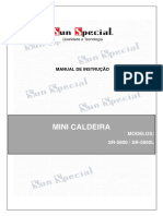 Manual de Instrucao Mini Caldeira Sr5800