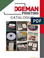 Badgeman Printing - catalogue