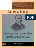 Apoteose Camoniana - Xavier de Carvalho