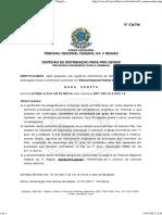 _ Sistema de Emissão de Certidões Negativas Da 1ª Região