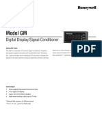 Model GM Datasheet