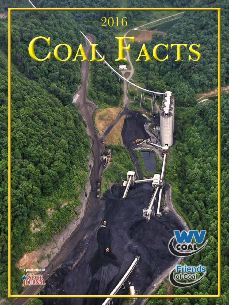 Coalfacts 2016 Final Lowres West Virginia Coal Mining Filing Cabinet With Digital Lock Du 11809m