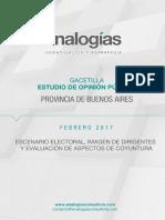 Encuesta Provincia Buenos Aires - Febrero