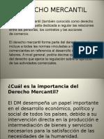 Derecho Mercantil Idca Primera Unidad