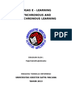 Synchronous and Asynchronous Learning
