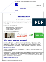 Radioactivity by Ron Kurtus - Succeed in Understanding Physics_ School for Champions