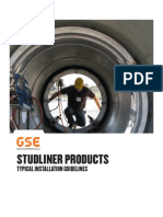 Installation Guidlines StudLiner