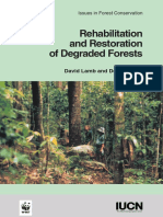 Rehabilitation and Restoration of Degraded Forests