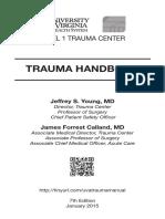 2015 Trauma Manual