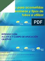 Normas para acometidas subterráneas.pdf