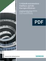 SIEMENS-SIA Gebäudeautomation en 15232 Schweiz 2012-06-28