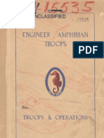 WWII Engineer Amphibian Troops