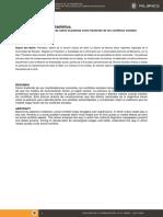Entre El Drama y La Estadística. Las Representaciones Mediáticas Sobre La Pobreza Como Trasfondo de Los Conflictos Sociales