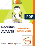 Book Receita Avante Ticket