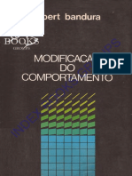 Modificação Do Comportamento - Albert Bandura (Index)