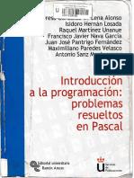 Introducciona a La Programacion Problemas Resueltos en Pascal URJC