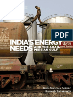 India's Energy Needs and the Arab/Persian Gulf