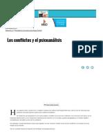Los Conflictos y El Psicoanálisis- El Icc