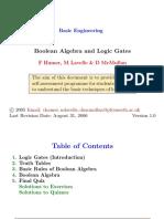 PlymouthUniversity MathsandStats Boolean Algebra and Logic Gates