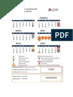 Calendario Comunidades 2017 2
