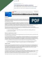 Deteccion Del Cancer (Pistas Para El Medico Practico)