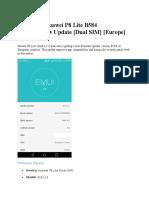 Download Huawei P8 Lite B584 Marshmallow Update