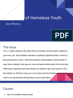 education of homeless youth presentation