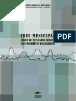 IBEU MUNICIPAL - Índice de bem estar urbano nos municípios Brasileiros.pdf