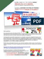 2% Asociația Dorna Tismana – a.d.t.