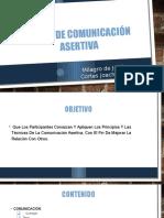 Material de Exposicion Del Taller de Comunicación Asertiva.pptx