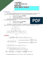 Solutions Série 03-Déformations Des Sols