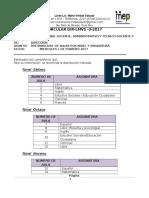DIR-LMVS-2-2017, Distribución de Aulas