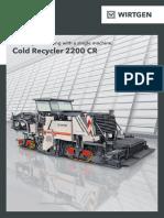 Brochure 2200CR En