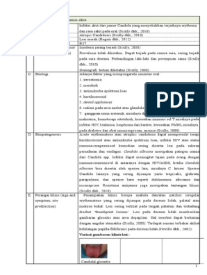 Candida parapsilosis icd 10