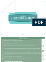 A Heritage of Hope
