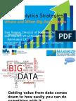 12 Data Analytics Strategies Where and When Big Data Matters