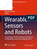 (Lecture Notes in Electrical Engineering 399) Canjun Yang, G. S. Virk, Huayong Yang (Eds.)-Wearable Sensors and Robots_ Proceedings of International Conference on Wearable Sensors and Robots 2015-Spri