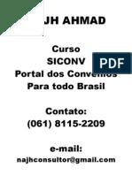 Curso SICONV Portal dos Convênios