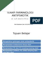 10-Terapi Farmakologi Antipsikotik & Psikotik