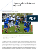 boys lacrosse- dawson rolls to first round victory over englewood - bocopreps com boulder county high school sports