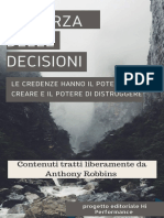 Anthony Robbins - La Forza Delle Decisioni