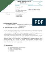 Unidad de Aprendizaje 01- Comunicacion