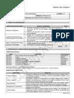 Requisitos para Técnico de Calibración - Iprocen