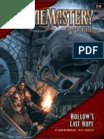 Campaña Hollows Last Hope PDF