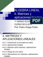 Algebra Lineal Tema 2
