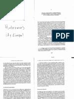 Habermas J. Medios, Mercados y Consumidores