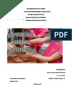 FORMACION ESTETICA CONSTRUCTIVA