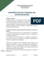 Instructivo de Investigacion