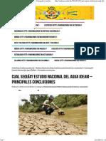 Agua en Colombia